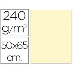 Cartulina Liderpapel 240 g/m2 color crema