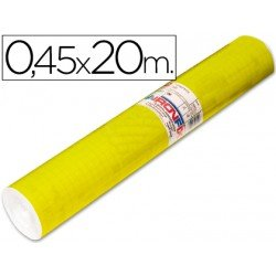 Rollo adhesivo Aironfix color amarillo brillo 67007