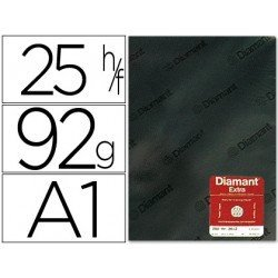 Papel vegetal Diamant A1 92g/m2 formato hoja