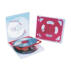 Fichero Csp cd plastico extraduro para 4 cd