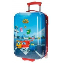 Maleta cabina rigida Super Wings 31x50x20cm