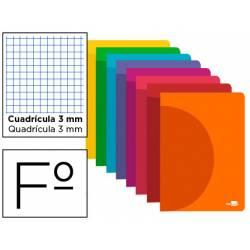 Libreta liderpapel 360 A4 48 hojas 90gr/m2 cuadriculado 3mm (NO SE PUEDE ELEGIR COLOR)