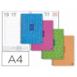 Agenda 2019 Espiral Classic Dia página DIN A4 (NO SE PUDE ELEGIR COLOR) Liderpapel