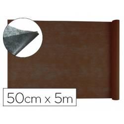 Entretela Liderpapel 25g/m2 rollo de 5m color Marron