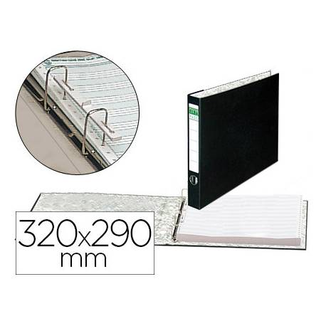 Carpeta papel continuo carton forrado Elba 320x290 mm Lomo 80 mm