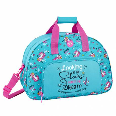 CARTERA ESCOLAR SAFTA GLOW LAB DREAMS BOLSA DEPORTE 480X330X210 MM