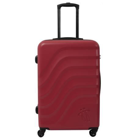 Maleta trolley mediana rojo/negro - Bazy Totto 68.5x45.5x26.00cm 0.7 Kg