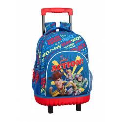 Mochila Escolar Toy Story 4 45x32x21 cm Poliester Con ruedas