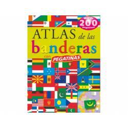 Atlas Susaeta De las banderas 24 paginas Con pegatinas