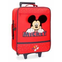 Maleta de cabina Happy Mickey 50x35x18cm.