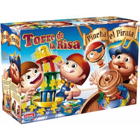 Juego de mesa Torre de la risa + Pinchapirata Falomir