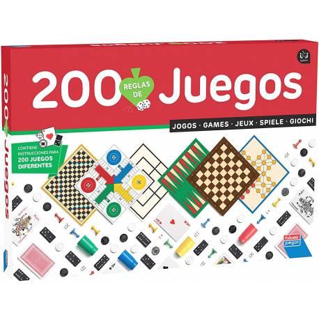 Juego de mesa 200 juegos reunidos Falomir