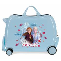 Maleta infantil Correpasillos Frozen- Trust your journey con ruedas multidireccionales. 2,1 kg
