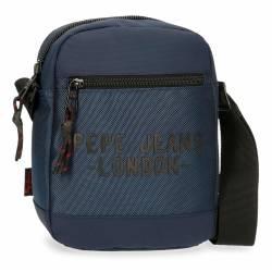 Bandolera Pepe Jeans Bromley Mediana Azul 22x17x6cm