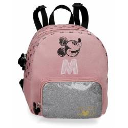 Mochila Infantil Mickey The Blogger 22x25x14 cm Sin carro