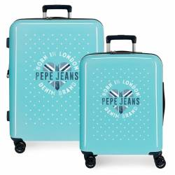 Juego de maletas rígidas 55-70 cm Pepe Jeans Emory Stars
