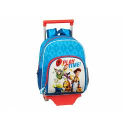 CARTERA ESCOLAR CON CARRO SAFTA TOY STORY PLAY TIME 320X140X420 MM