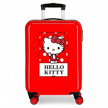 Maleta de cabina Bow of Hello Kitty rígida 55x37x20cm