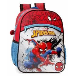 Mochila Preescolar Spiderman Red (4042221)