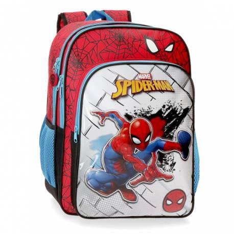 Mochila Escolar Spiderman Red