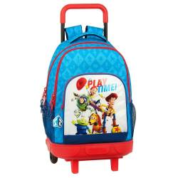 MOCHILA CON RUEDAS COMPACT EXTRAIBLE TOY STORY PLAY TIME
