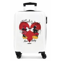 Maleta de Cabina Mickey & Minnie Love 55x40x20cm