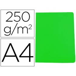Subcarpeta Gio DIN A4 250 gr Cartulina color verde