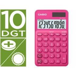 Calculadora Bolsillo Casio SL-310UC-RD 10 digitos Fucsia