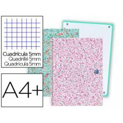 Bloc marca Oxford DIN A4+ Bloom Cuadricula 5 mm COLORES SURTIDOS