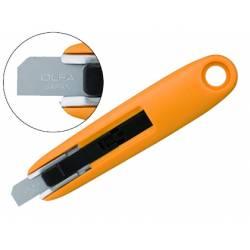 Cuter de plastico Olfa mini cuchilla ancha