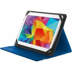 """Funda Trust Primo Tamaño folio Universal para tablets 10"""" Azul"""