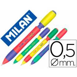 Portaminas Milán Sway trazado 0,5mm con goma (NO SE PUEDE ELEGIR COLOR)