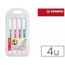 Rotulador Stabilo Swing Cool Pastel Fluorescente 4 unidades