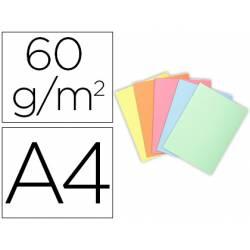 Subcarpeta Exacompta Din A4 60 gr Colores Pastel Paquete 100 uds