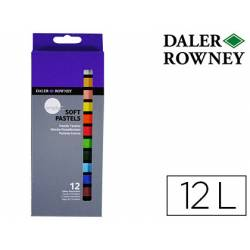 Lápices Pastel Óleo Daler Rowney Caja de 12 colores surtidos