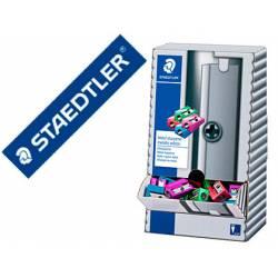 Sacapuntas Metálico Staedtler Expositor 100 unidades de Colores Surtidos