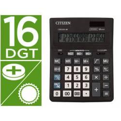 Calculadora de Sobremesa Citizen Modelo CDB1601-BK Eco