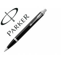 Bolígrafo Parker PK IM CT Punta 1mm Tinta Azul Color Negro