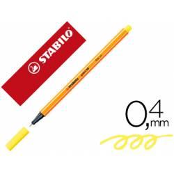 Rotulador Stabilo Point 88 Color Amarillo limón
