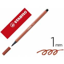 Rotulador Stabilo 68/75 1 mm Color Marrón