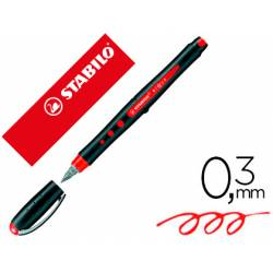 Rotulador Stabilo Roller Black 0,3mm color Rojo