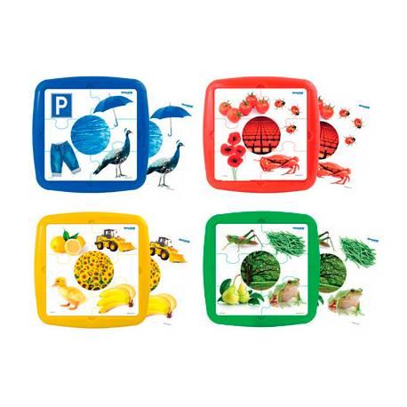 Puzzle Los colores a partir de 2 años 6 piezas Miniland