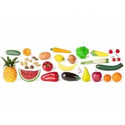 Juego de imitacion Frutas hortalizas y frutos secos a partir de 3 años Miniland