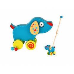 Juego para bebes a partir de 1 año Arrastre Perro Fiesta Crafts