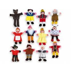Marioneta de dedo Personajes de cuentos infantiles partir de 3 años Andreutoys