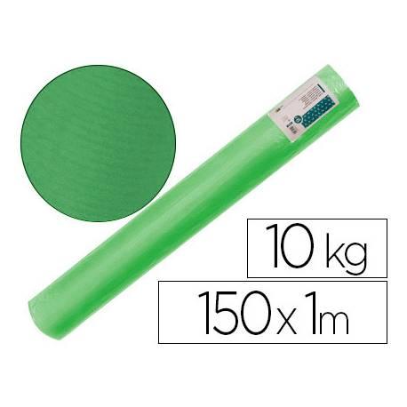 Bobina papel tipo kraft verdujado color verde 1x150 mt Liderpapel