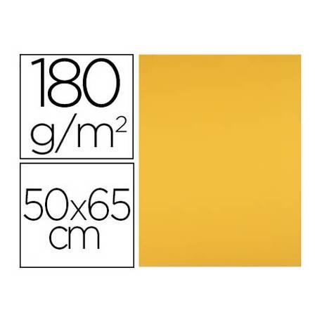Cartulina Liderpapel color Oro Viejo 50x65 cm 180 gr 25 unidades