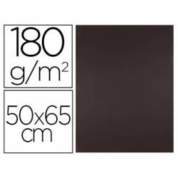 Cartulina Liderpapel color Marron 50x65 cm 180 gr 25 unidades