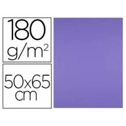 Cartulina Liderpapel color Purpura 50x65 cm 180 gr