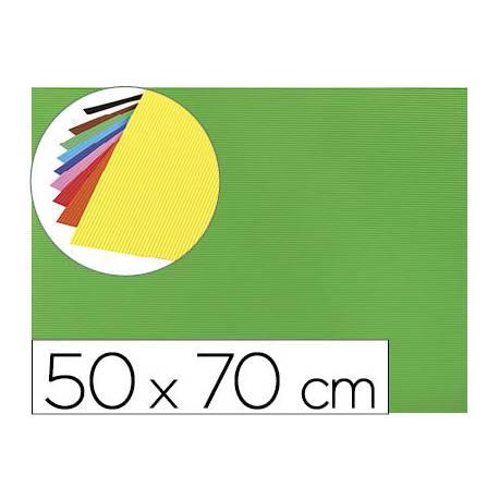 Goma eva Ondulada Liderpapel 50x70 cm color verde